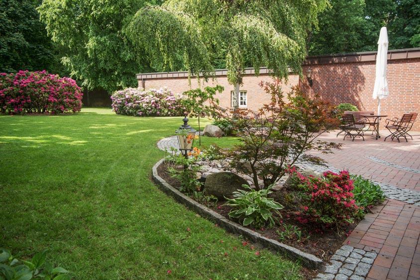 Garten des Bümmersteder kruges.