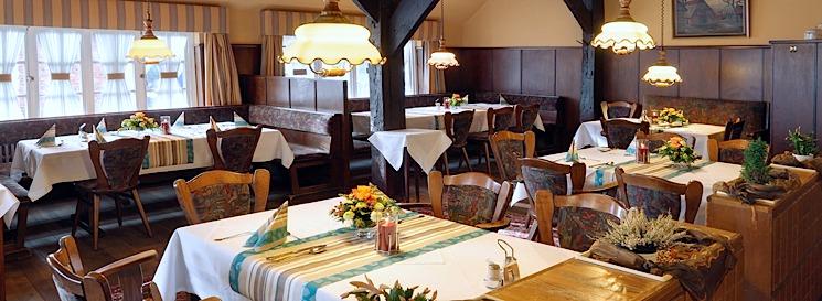 Gasträume Restaurant Bauernstube