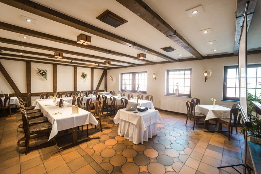 Der Bümmersteder Krug bietet verschiedene Tagungsräume für Gruppen von 20 bis 120 Personen.