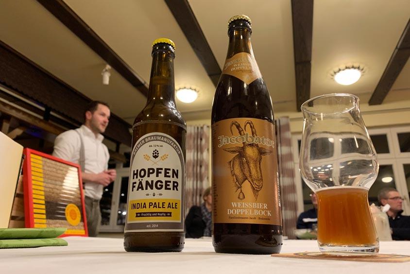 Bier-Tasting in Oldenburg mit Biersommelier Timo Schwindt.