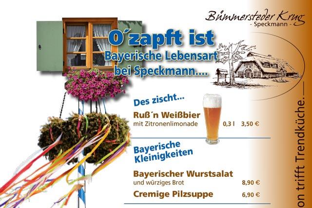 O´zapft ist – Bayerische Lebensart bei Speckmann
